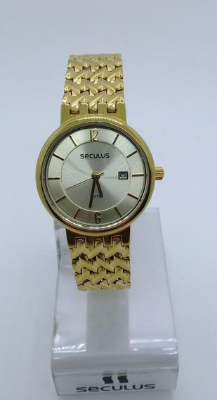 Relógio Seculus Feminino 20021lpstda1