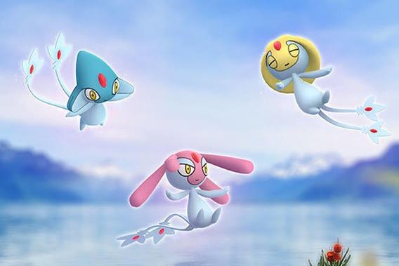 Trio Do Lago - Captura Pokémon Go