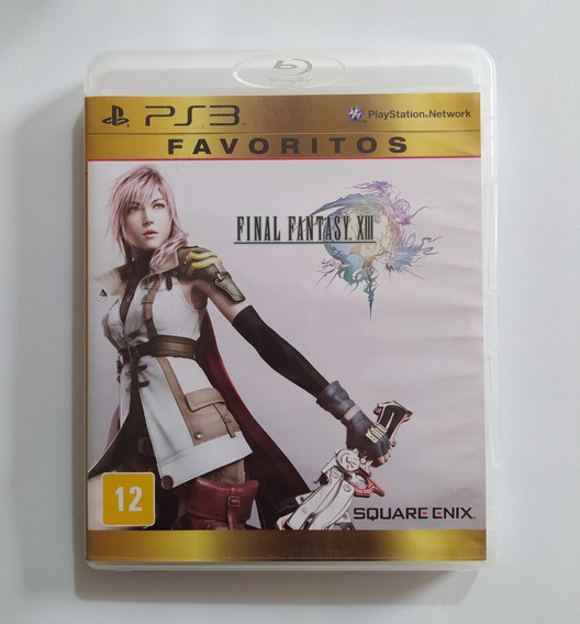 Final Fantasy Xiii - Ps3 Playstation 3 Original