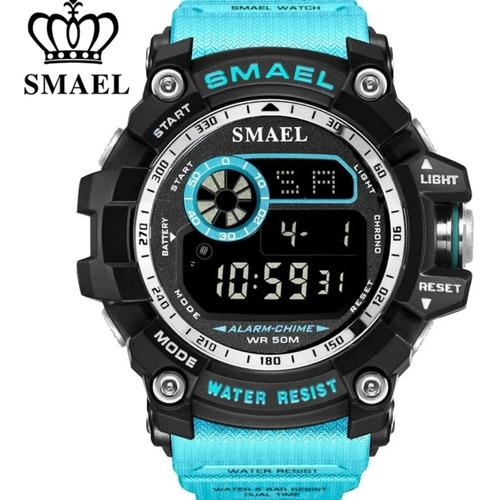 Relógio Masculino Smael 8010 Original Tático Militar C Caixa