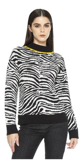 Sweater Owen Jacquard Cuello Redondo Mujer Complot