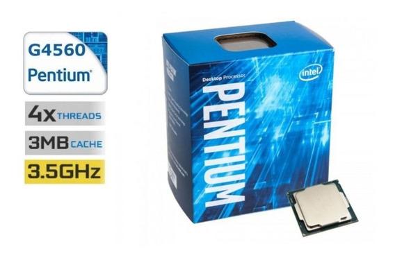 Processador Intel G4560 Kaby Lake 3.5ghz 3mb 1151 Lacrado