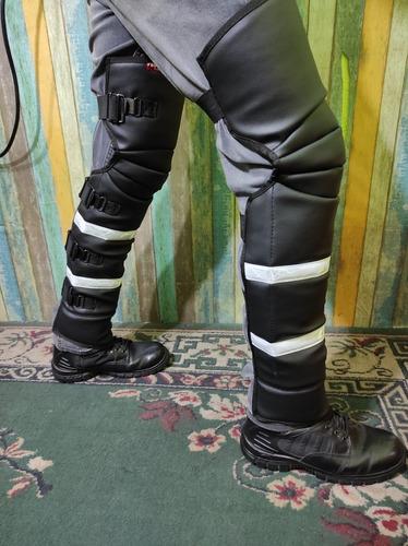 Imagen 1 de 10 de Chaparreras Motociclista Protección Pantalones Biker Msi