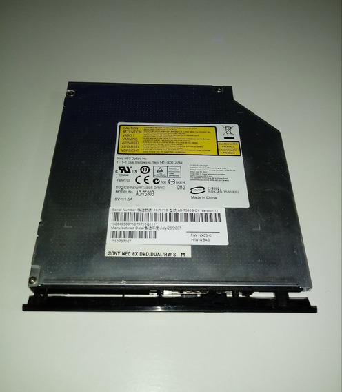 Dvd/cd Do Notebook Positivo Mobile V56 #1678