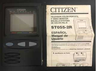 Televisor Portátil Citizen