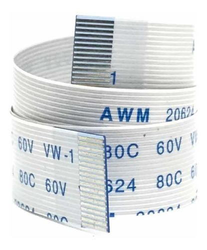 Imagen 1 de 4 de Cable Flex Plano Membrana Cinta 18 Pines 20 Cm A W M