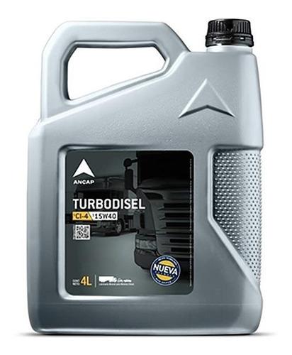 Aceite 15w40 Turbo Disel Ancap Lubricante Oferta 4 Lts - Tyt