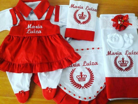 Saída Maternidade Menina Personalizada