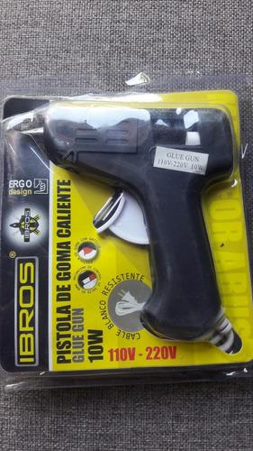 Pistola  Silicon 10w Barra Delgada 110v - 220v (3 Unidades)
