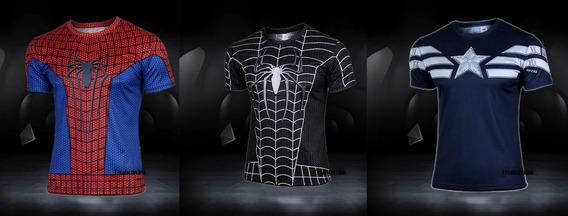 Playeras Spiderman Infinity War Ironman Marvel