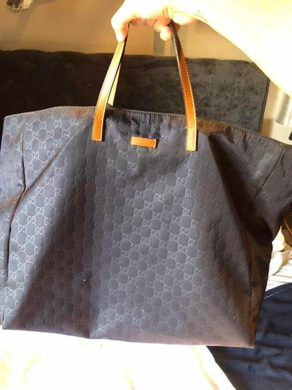 Bolsa Tote Gucci Original Roxa Ótimo Estado