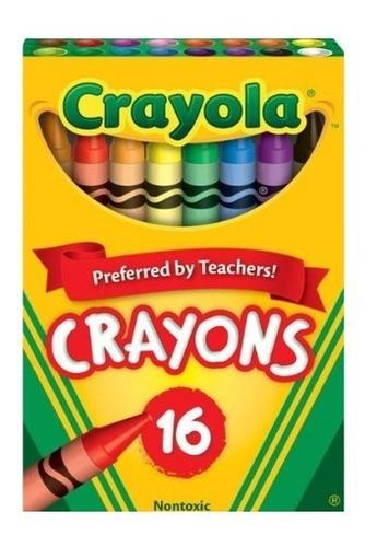Crayola: Caja X 16 Crayones Tienda Oficial