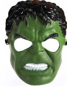 Máscara Personagem Festa A Fantasia Hulk Incrivel Menino 1pç