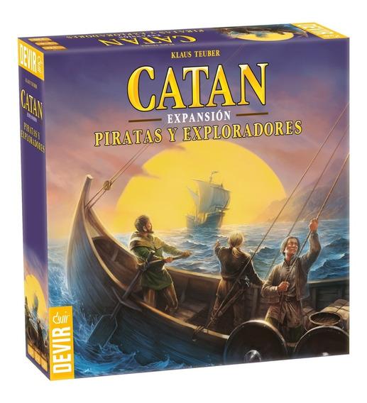 Juego De Mesa Catan Expansión Piratas Y Exploradores