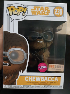 Funko Pop Chewbacca 239 Flocked Exclusivo Box Lunch