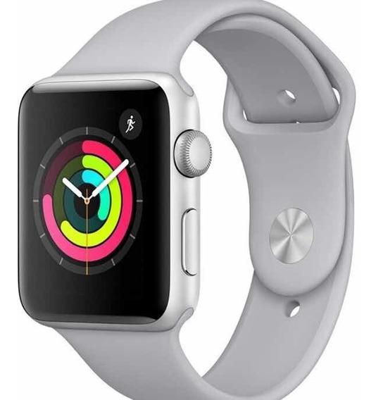 Relógio Apple Watch Série 3 38 Mm Prata E Preto