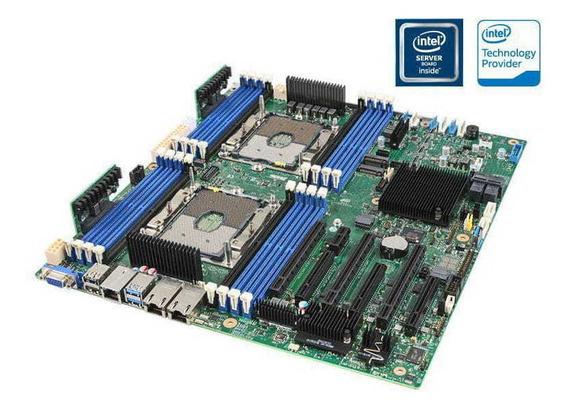 Placa Mae Servidor Intel S2600stbr Dual Xeon Ddr4 Lga3647