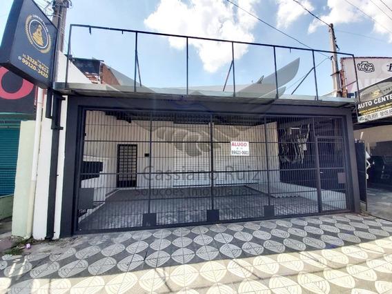 Salão Para Locação - Avenida Elias Maluf - 1 Sala - 2 Banheiros - Área De Serviço - Lavabo - 3 Vagas De Garagem - Sl00002 - 34748427