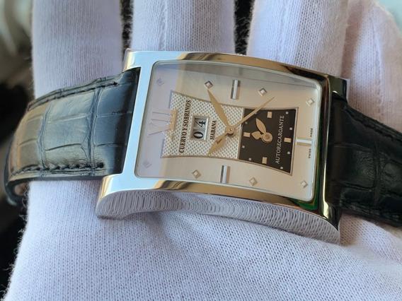 Relógio Cuervo Y Sobrinos Esplendidos Xl Dual Time Automatic
