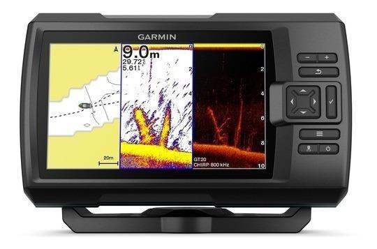 Gps/sonar Garmin Striker Plus 7cv Revenda Autorizada 1 Ano