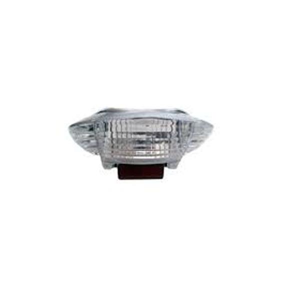 Lente Lanterna Honda Biz 125 2005 A 2010 Cristal + Lampada