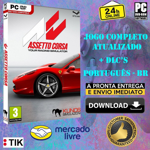Assetto Corsa - Completo - Pc - Todas Dlc