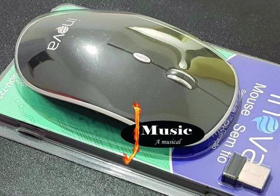 Mouse Inova Sem Fio E Sensor De Última Geração