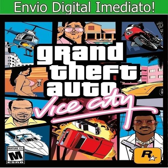 Grand Theft Auto Vice City Pc Envio Imediato.