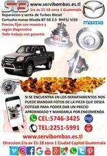 Reparación De Turbos Mazda Bt-50 2.5 Diesel Guatemala