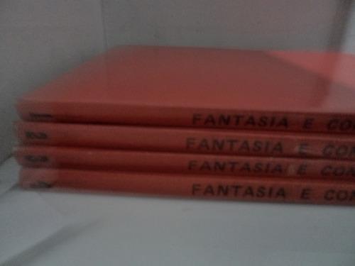 Coleçao Fantasia E Conhecimento 4 Volumes Didatica Usados