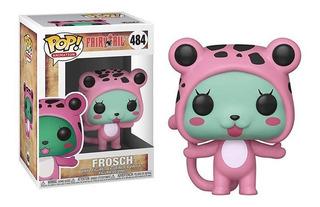Funko Pop! Frosch 484 - Fairy Tail Muñeco Original