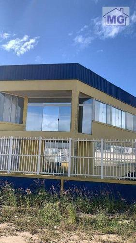 Imagem 1 de 18 de Galpão Para Alugar, 200 M² Por R$ 11.500,00/mês - Linha Azul - Macaé/rj - Ga0161