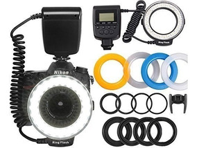 Flash Circular Macro Rf-550d 48 Led Ring Canon Nikon Redondo