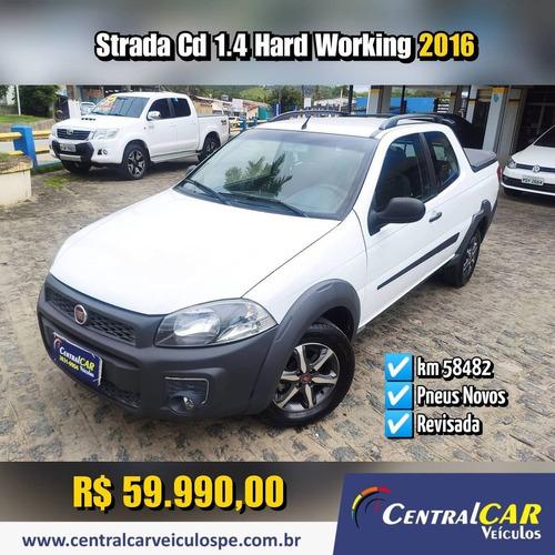 Imagem 1 de 9 de Fiat Strada 2016 1.4 Working Cab. Dupla Flex 3p