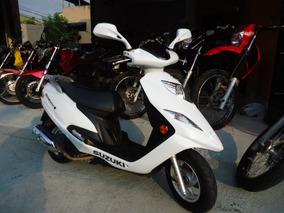 Suzuki Burgman 125i 2016 Branca Maravilhosa