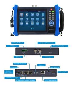 Ipc-8600adh Plus Monitor Testador Multifuncional Cftv