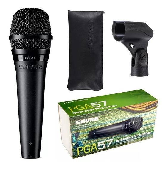 Microfone Shure Pga57 Para Instrumento Dinamico Original