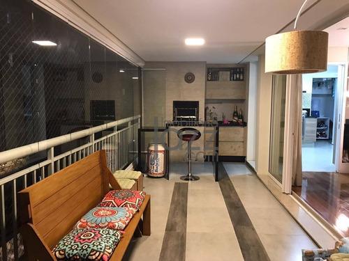 Apartamento Com 3 Dormitórios À Venda, 141 M² Por R$ 1.100.000,00 - Jardim Monte Kemel - São Paulo/sp - Ap4933