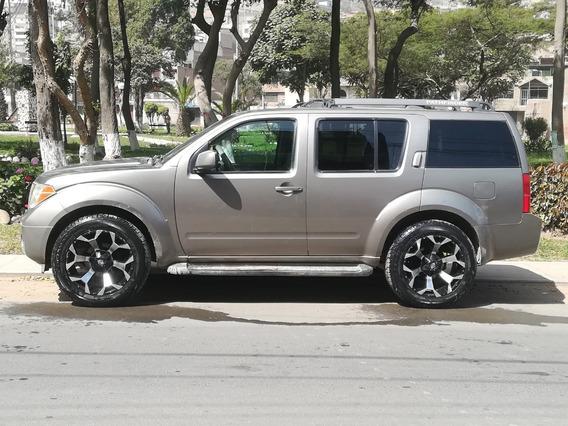Nissan Pathfinder, 4x4, 2005, Dual: Glp-gasolina, 7 Asientos