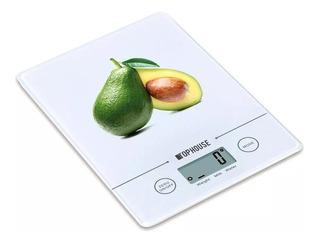 Balanza De Cocina Digital Electronic Vidrio Ultra Slim 3 Kg
