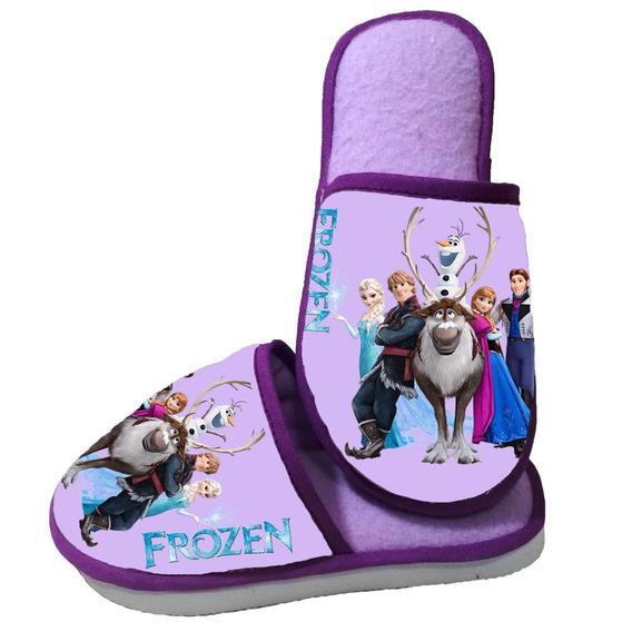 Pantufa Frozen - Personalizada