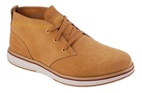Skechers On The Go Kasual Wheat Cano Médio Masculina