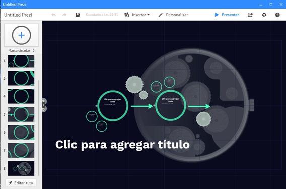 Prezi Desktop Manager 6.12 Full En Español