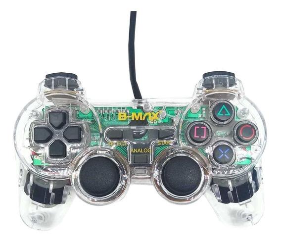 Controle joystick B-Max BM022 transparente