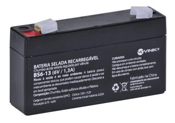 Bateria 6v Recarregavel Selada