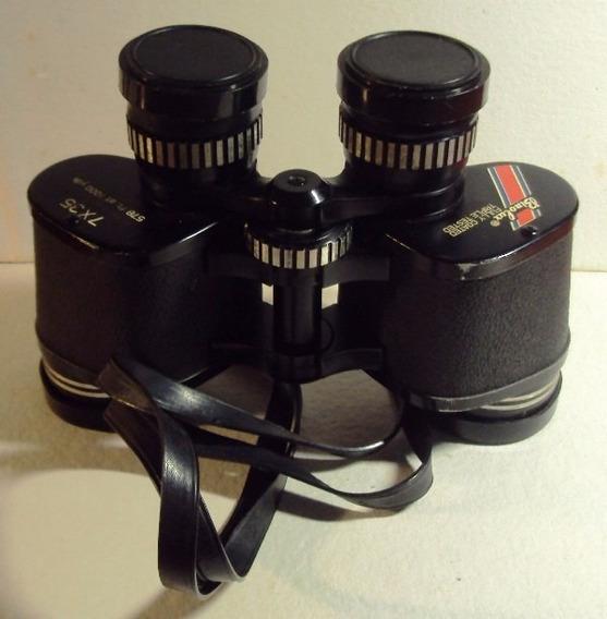 344 Prd- 1977 Antigo Binóculos Binolux 7x35 Made Usa Vintage