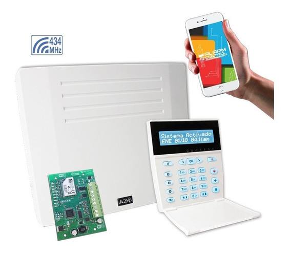 Alarma Para Casa Inalambrica+wifi - Ip-8-rf-12c