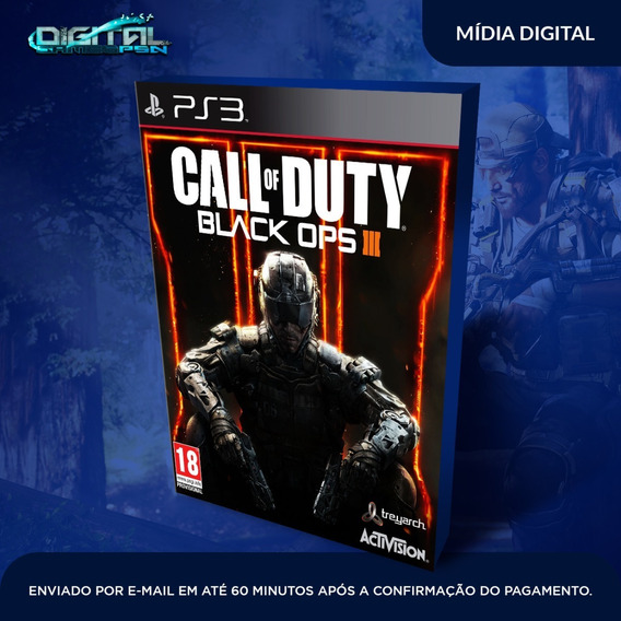 Call Of Duty Black Ops 3 Ps3 Jogo Psn Digital Envio Agora