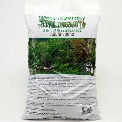 Substrato Fértil Solomon 5kg P/ Aquario Plantado
