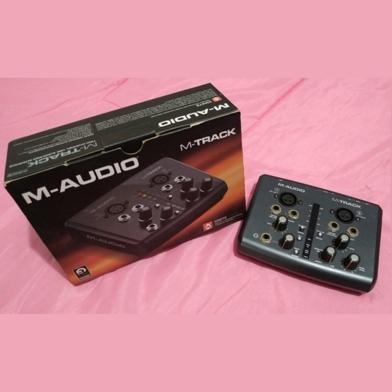 Interface De Áudio M-track M-audio